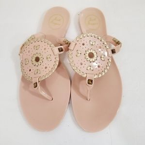 Jack Rogers Georgica jelly pink size 9